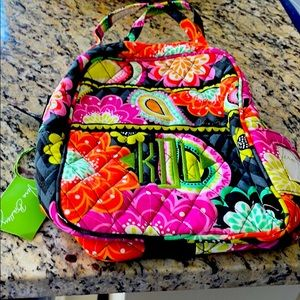 Vera Bradley lunch bag lunch bunch ziggy zinnia